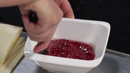 Linzer al piatto