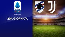 Sampdoria - Juventus. 20a g.