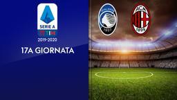 Atalanta - Milan. 17a g.