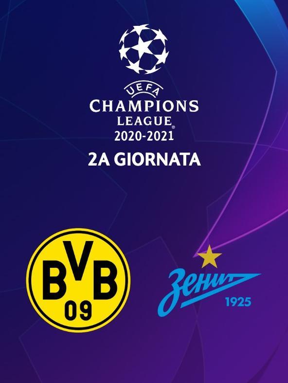 Borussia Dortmund - Zenit St Pietroburgo. 2a g.