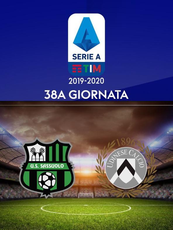 Sassuolo - Udinese. 38a g.
