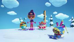 La Principessa Flug va a sciare / La grande mostra di Mo e Bo