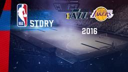 Utah - LA Lakers 2016