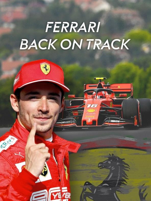 Ferrari back on track
