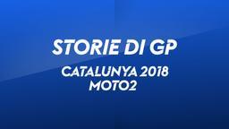 Catalunya, Barcellona 2018. Moto2. Gara