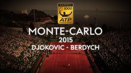 Djokovic - Berdych. Finale