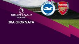 Brighton & Hove Albion - Arsenal. 30a g.