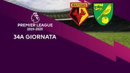 Watford - Norwich City. 34a g.