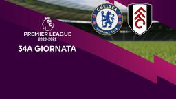 Chelsea - Fulham. 34a g.