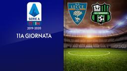 Lecce - Sassuolo. 11a g.