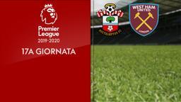 Southampton - West Ham United. 17a g.