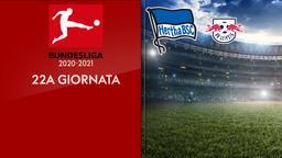Hertha B. - Lipsia. 22a g.
