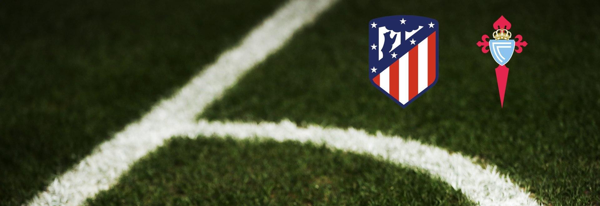 Atletico Madrid - Celta Vigo. 22a g.