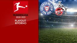 Holstein Kiel - Colonia. Playout Ritorno