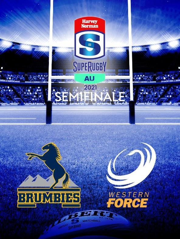 Brumbies - Force. Semifinale