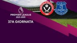 Sheffield United - Everton. 37a g.