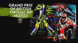 Grand Prix of British Virtual GP: Moto3