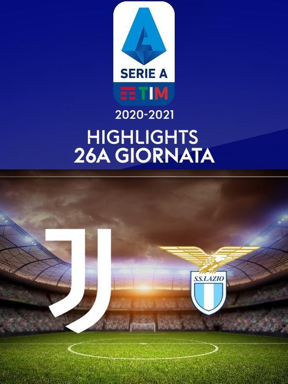 Highlights Serie A: Juventus - Lazio. 26a g.