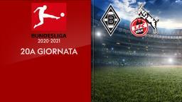 Borussia Moenchengladbach - Colonia. 20a g.