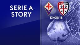 Fiorentina - Cagliari 13/05/18. 37a g.