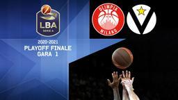Milano - V. Bologna. Playoff Finale Gara 1
