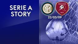 Inter - Reggina 22/03/09. 29a g.