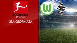 Wolfsburg - Borussia Moenchengladbach. 21a g.