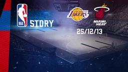 LA Lakers - Miami 25/12/13