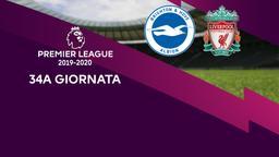 Brighton & Hove Albion - Liverpool. 34a g.