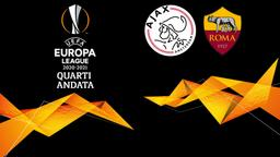Ajax - Roma. Quarti Andata