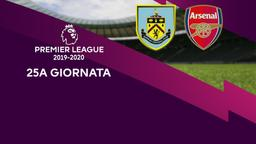 Burnley - Arsenal. 25a g.