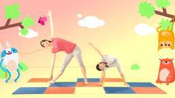 Favola Yo Yoga, geometria dondolante!