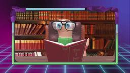Verme di biblioteca e aquila del foro