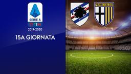 Sampdoria - Parma. 15a g.