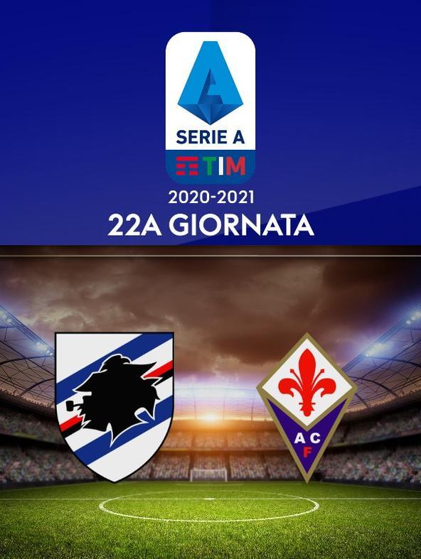 Sampdoria - Fiorentina. 22a g.