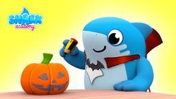 La mostro-zucca di Halloween