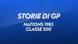 Nations Italia 1983. Classe 500