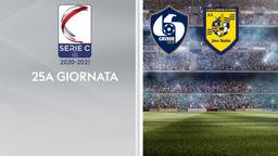 Cavese - Juve Stabia. 25a g.