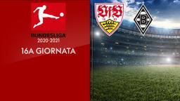 Stoccarda - Borussia Moenchengladbach. 16a g.