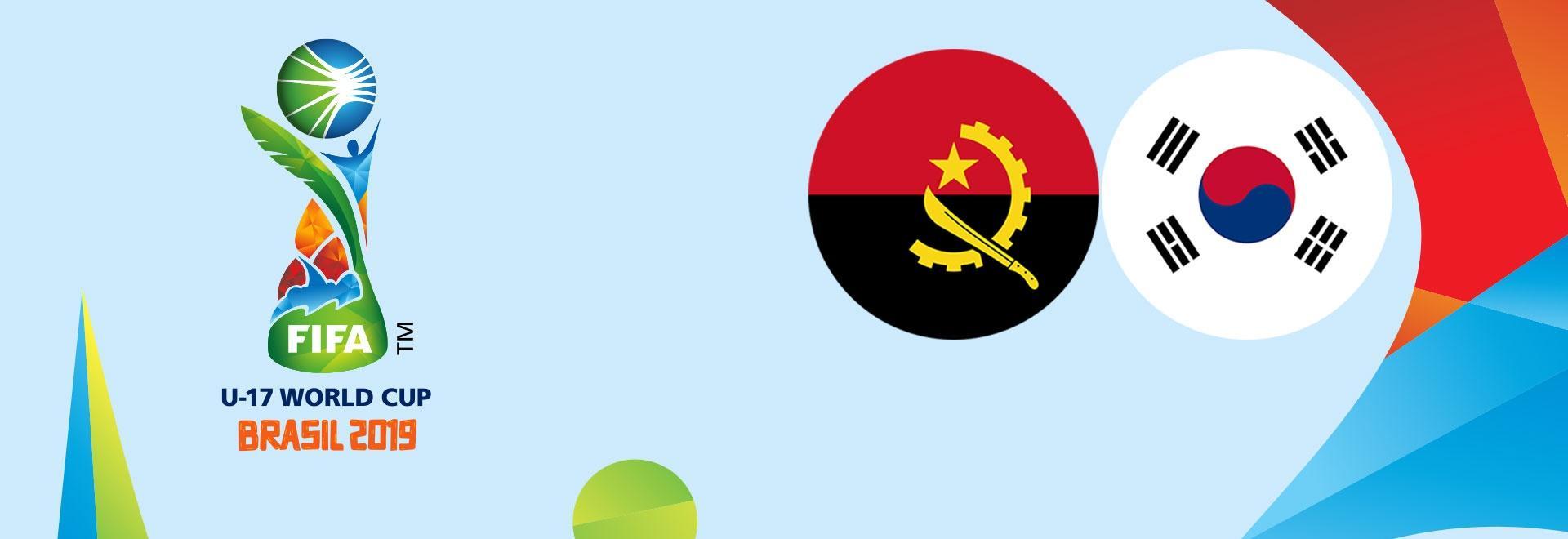 Angola - Corea. Ottavi