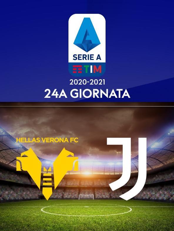 Verona - Juventus. 24a g.