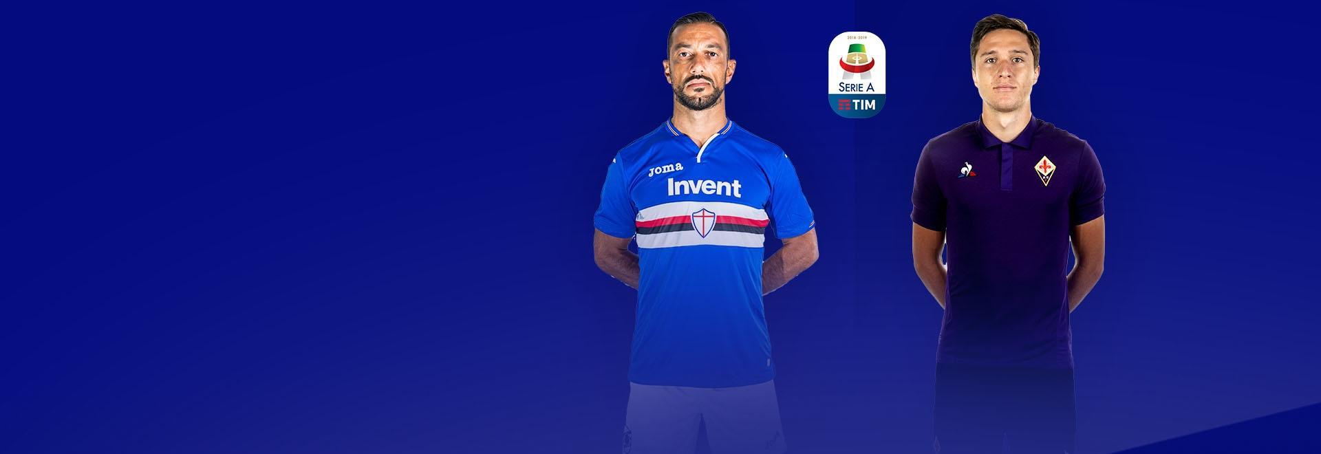 Sampdoria - Fiorentina. 1a g.