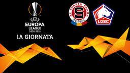 Sparta Praga - Lille. 1a g.