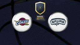 Cavaliers - Spurs 12/03/15 Irving: 57pts