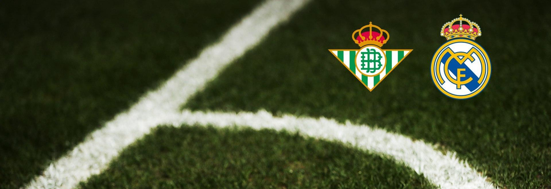 Betis - Real Madrid. 3a g.