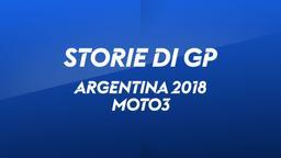 Argentina 2018. Moto3