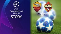 Roma - CSKA Mosca 23/10/18