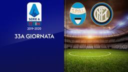 Spal - Inter. 33a g.