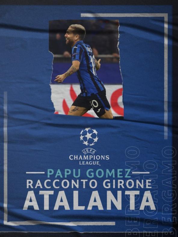 Papu Gomez-Racconto del girone Atalanta