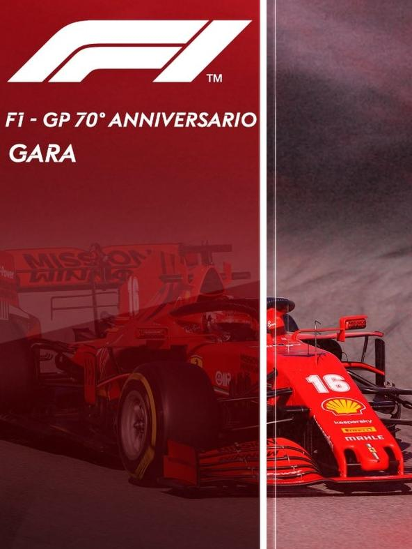F1 Gara: GP 70esimo Anniversario    (diretta)